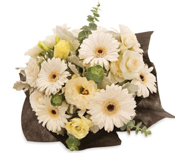 White Beauty in Hobart , Florist Works - Hobart Flowers