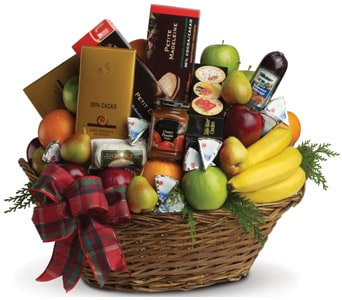 Ultimate Christmas Basket for flower delivery new zealand wide