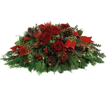 Christmas Glow in sinnamon park , petals florist network