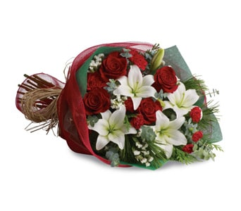Christmas Elegance for flower delivery New Zealand wide