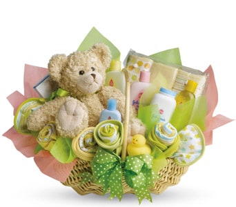 Bouncy Baby for flower delivery Australia wide