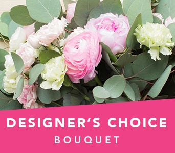 Designer's Choice Bouquet in Orange , Jenisa Florist & Gifts