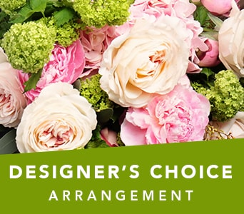 Designer's Choice Arrangement in Semaphore , Roses of Elizabeth