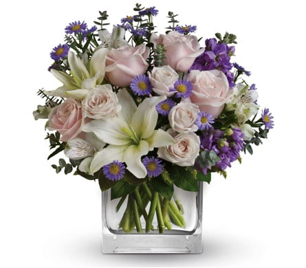Watercolour Wishes for flower delivery australia wide