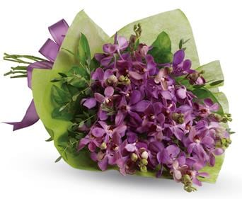 Purple Perfection in Toowoomba , The Enchanted Florist