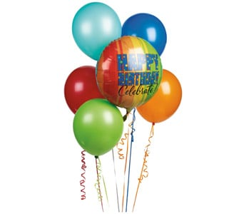 Balloon Bouquet for flower delivery New Zealand wide