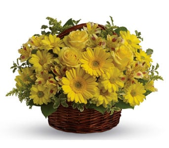 Basket of Sunshine for flower delivery united kingdom wide