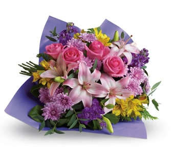 Love and Laughter for flower delivery United Kingdom wide