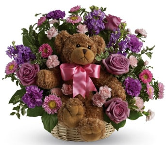 Cuddles for Her for flower delivery united kingdom wide