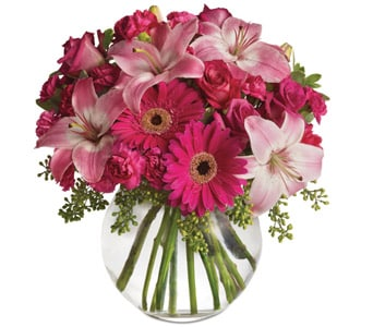 Pink Me Up for flower delivery United Kingdom wide
