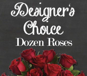 Designer's Choice Dozen Roses for flower delivery united kingdom wide