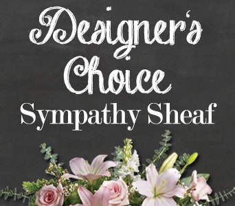 Designer's Choice Sympathy Sheaf for flower delivery united kingdom wide