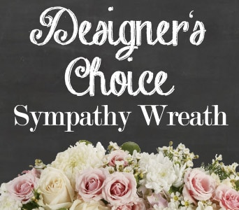 Designer's Choice Sympathy Wreath for flower delivery united kingdom wide
