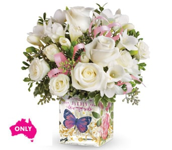 Enchanted Pearl for flower delivery australia wide
