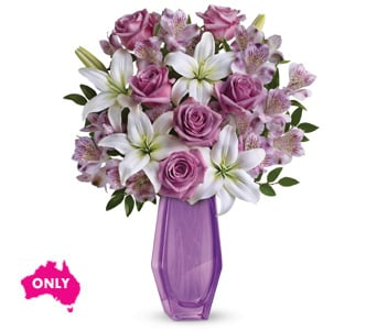 Lavender Beauty for flower delivery new zealand wide