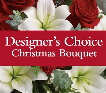 Designer's Choice Christmas Bouquet for flower delivery new zealand wide