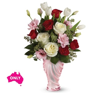 Eternal Love for flower delivery Australia wide