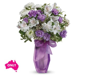 Lilac Beauty for flower delivery new zealand wide