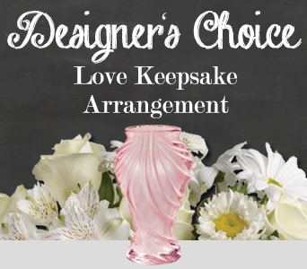 Designer's Choice Love Keepsake Arrangement for flower delivery australia wide