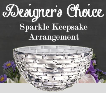 Designer's Choice Sparkle Keepsake Arrangement for flower delivery australia wide