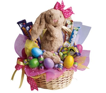 Easter flowers and gifts delivered by local florists petals easter basket negle Images