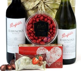 Red & White Delight - fast gift delivery australia wide