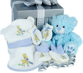 Bouncing Baby Boy - fast gift delivery australia wide