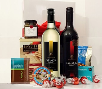 Wine Duo Gift Hamper in Grumleys NSW, Grumleys Gifts