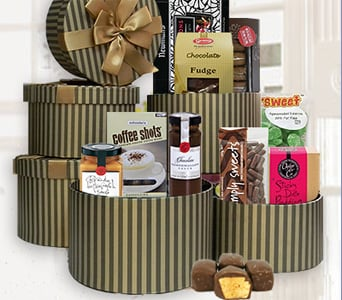 Sweet Tower Gift Hamper - fast gift delivery australia wide