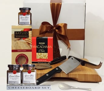 Cheese Board Gift Set - fast gift delivery australia wide