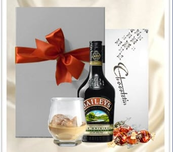 Baileys & Chocolates Hamper - fast gift delivery australia wide