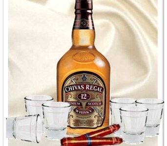 Chivas & Cigars Gift Hamper in Grumleys NSW, Grumleys Gifts