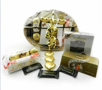 Chocolate Gift Basket - fast gift delivery australia wide