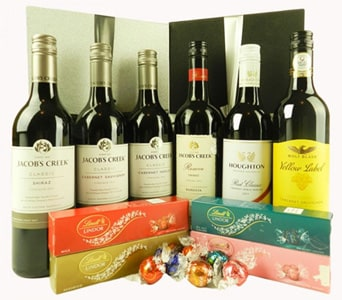 Wine and Chocolates Gift Box - fast gift delivery australia wide