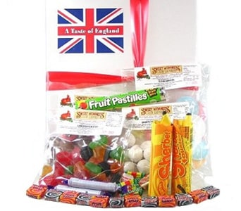 English Sweet Basket - fast gift delivery australia wide