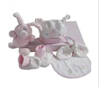 Baby Girl 5-piece Gift Set - fast gift delivery australia wide