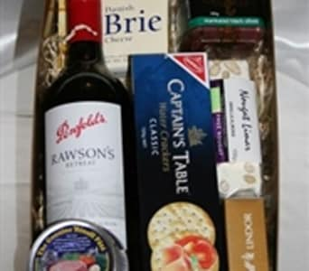 Gourmet & Wine Gift Box in Grumleys NSW, Grumleys Gifts