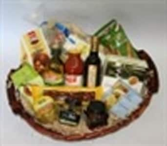 Mediterranean Gourmet Basket in Grumleys NSW, Grumleys Gifts