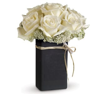 Chalk It Ivory for flower delivery new zealand wide