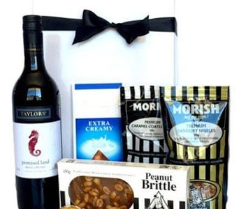 Gourmet Wine Gift Hamper - fast gift delivery australia wide