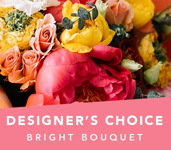Designer's Choice Bright Bouquet in Dubbo , Hot Poppyz Florist