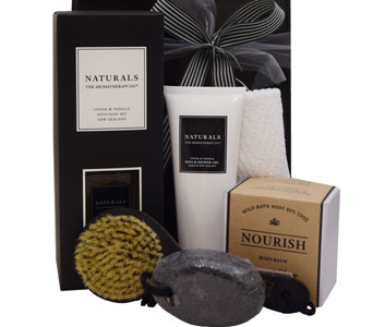 NOURISH Body Hamper in Grumleys NSW, Grumleys Gifts
