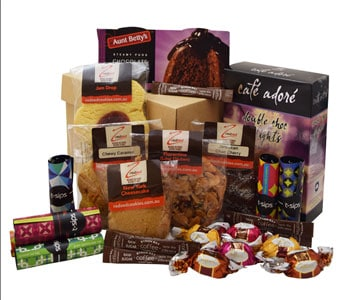Tea and Bikkies Hamper in Grumleys NSW, Grumleys Gifts