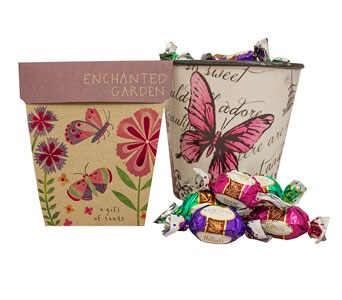 Enchanted Garden Gift Pot - fast gift delivery australia wide