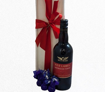Port and Chocolates Gift - fast gift delivery australia wide