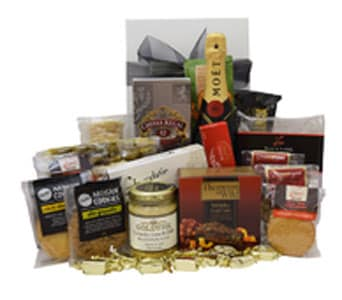 Moet & Chivas Gourmet Gift Hamper in Grumleys NSW, Grumleys Gifts