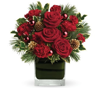 Christmas Blush for flower delivery australia wide