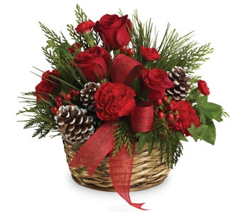 Christmas Riches in sinnamon park , petals florist network