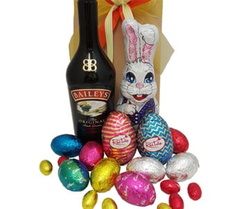 Easter Eggs and Baileys - fast gift delivery australia wide