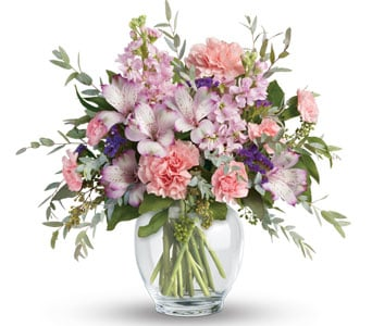 Pretty in Pastel in north gosford , petals florist network